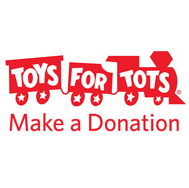 Toys for Tots. Make a donation.