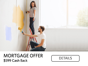 Mortgage Offer: $599 cash back