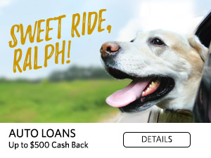 Sweet Ride Ralph. Auto Loans. Up to $500 Cash Back