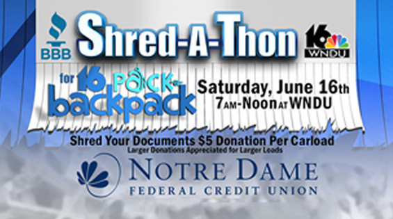 Shred-a-Thon 2018 to Protect Your Identity