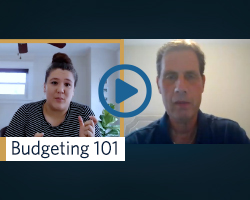 Watch to learn more about budgeting
