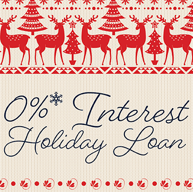 0% Interest Holiday Loan