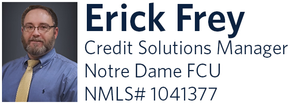 Erick Frey, Credit Solutions Manager