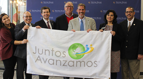 Notre Dame Federal Credit Union Celebrates Being Named the First Indiana Credit Union to Earn National Juntos Avanzamos (Together We Advance) Designation