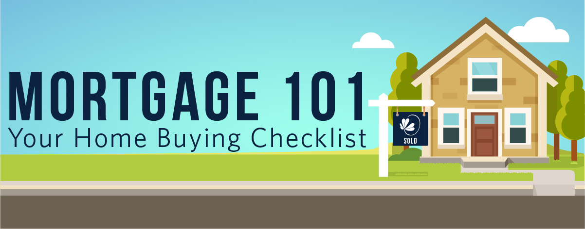 Mortgage 101. Your home buying checklist.