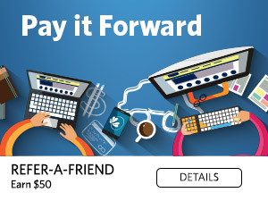 Refer-a-Friend. Get $50